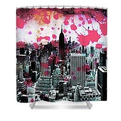 Splatter Pop Shower Curtain