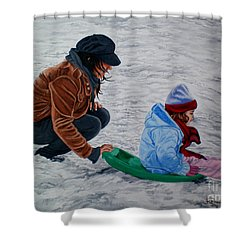 Splendid Journey - Jornada Esplendida Shower Curtain