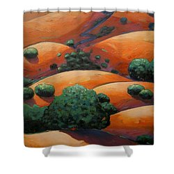 Splendid Uphill Shower Curtain