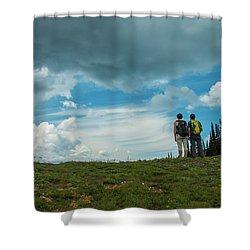 Splendid View Shower Curtain