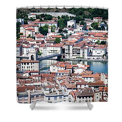 Shower Curtain featuring the photograph Split Down The Middle by Jason Smith