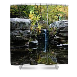 Split Rock In October #1 Shower Curtain by Jeff Severson
