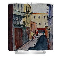 Spofford Street2 Shower Curtain by Tom Simmons