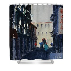 Spofford Street4 Shower Curtain by Tom Simmons