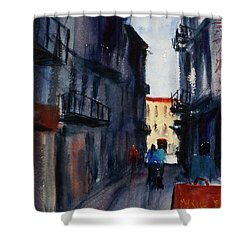 spofford Street5 Shower Curtain by Tom Simmons