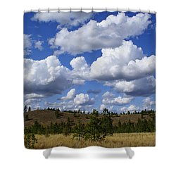 Spokane Cloudscape Shower Curtain