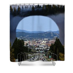 Spokane Near Perfect Nature Shower Curtain