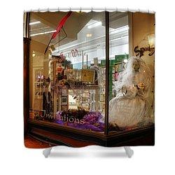 Spooky Bride Shower Curtain