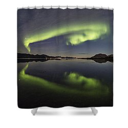 Spooky Face Shower Curtain