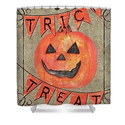 Spooky Pumpkin 1 Shower Curtain