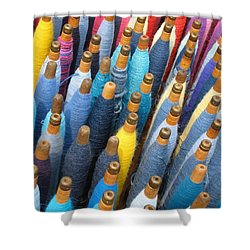 Spools 2 Shower Curtain