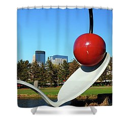 Spoonbridge Shower Curtain