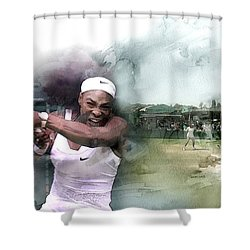 Sports 18 Shower Curtain by Jani Heinonen