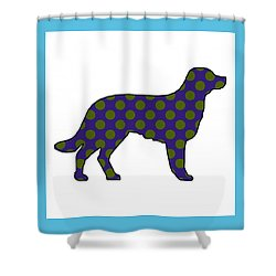 Spot Shower Curtain by Now