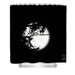 Spotlight Moon Shower Curtain