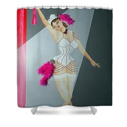 Spotlight On Gypsy -- #5 In Famous Flirts Series Shower Curtain