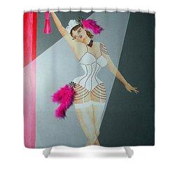 Spotlight On Gypsy -- #5 In Famous Flirts Series Shower Curtain