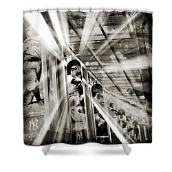 Spotlight On The Yankee Clipper IIi Shower Curtain