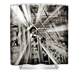 Spotlight On The Yankee Clipper IIi Shower Curtain by Aurelio Zucco