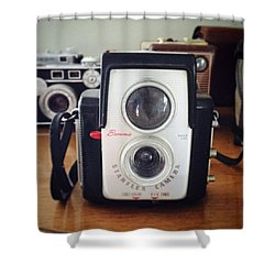 Brownie Starflex Camera Shower Curtain