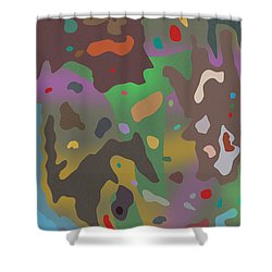 Spotsville Shower Curtain