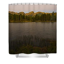 Sprague Lake Shower Curtain by Gary Lengyel