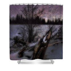 Shower Curtain featuring the photograph Sprague Lake Winter Dream by Ellen Heaverlo