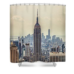 Sprawling Urban Jungle Shower Curtain