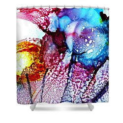 Spring Abnormal Psychology Shower Curtain