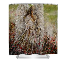 Spring Angel Shower Curtain