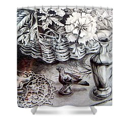 Spring Arrangemnt Shower Curtain