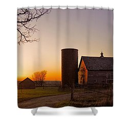 Spring At Birch Barn 2 Shower Curtain by Bonfire Photography