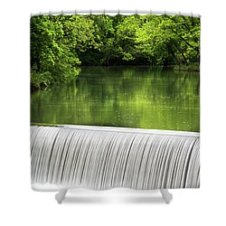 Shower Curtain featuring the photograph Spring At Buck Creek by Parker Cunningham