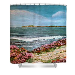 Spring At Half Moon Bay Shower Curtain