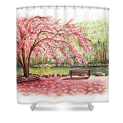 Spring At Lithia Park Shower Curtain