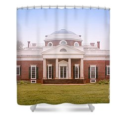 Spring At Monticello Shower Curtain