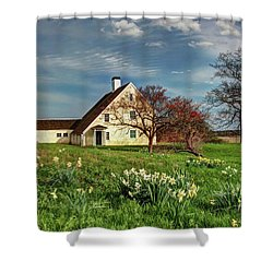 Spring At The Paine House Shower Curtain