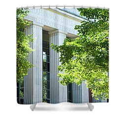 Shower Curtain featuring the photograph Spring At Uga by Parker Cunningham
