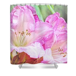 Spring Bling Shower Curtain