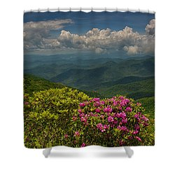 Spring Blooms On The Blue Ridge Parkway Shower Curtain