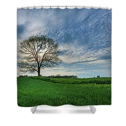 Shower Curtain featuring the photograph Spring Coming On by Bill Pevlor