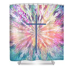 Shower Curtain featuring the photograph Spring Cross by Geraldine DeBoer