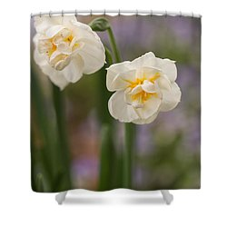 Shower Curtain featuring the photograph Spring Dance by Julie Andel