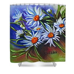 Spring Dasiy  Shower Curtain