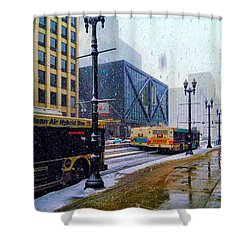 Spring Day In Chicago Shower Curtain
