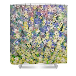 Spring Dreams Shower Curtain by George Riney