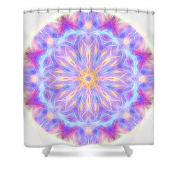 Spring Energy Mandala 3 Shower Curtain
