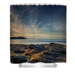 Spring Evening At Madrona Shower Curtain by Randy Hall