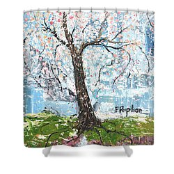 Spring Expression Shower Curtain