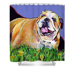 Spring Fever Shower Curtain by Pat Saunders-White